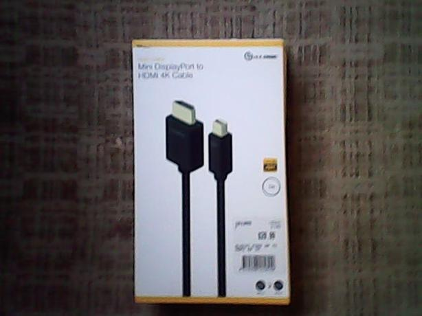 Alogic Mini display port to HDMI 4K Video Cable
