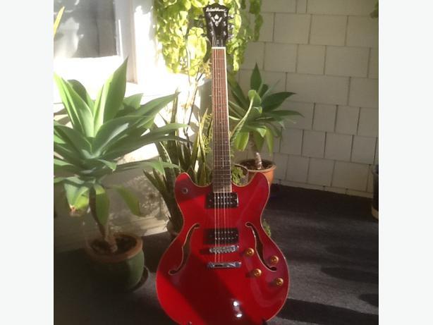 Washburn 335 electric guitar