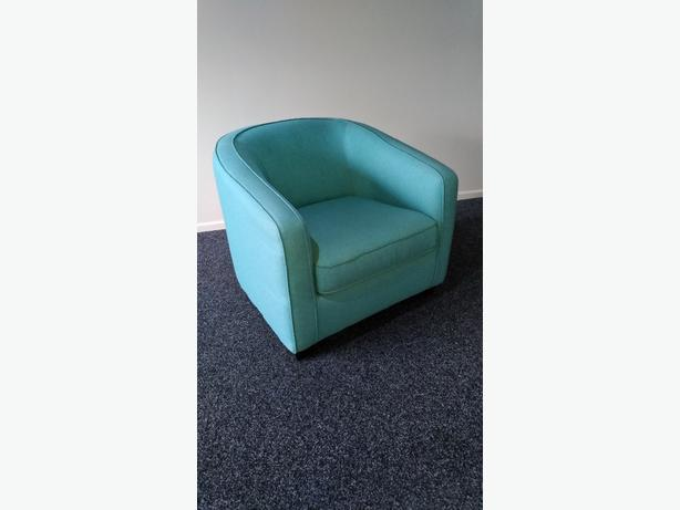 As new bucket chair