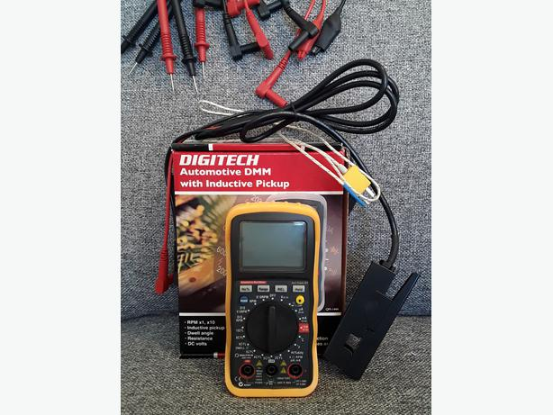 SAVE $20 OFF REP! AWESOME DIGITECH *AUTOMOTIVE* DIGITAL MULTI METER!