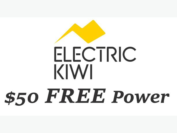 FREE: $50 Credit when you join Electric Kiwi (Referral, Refer a Friend)