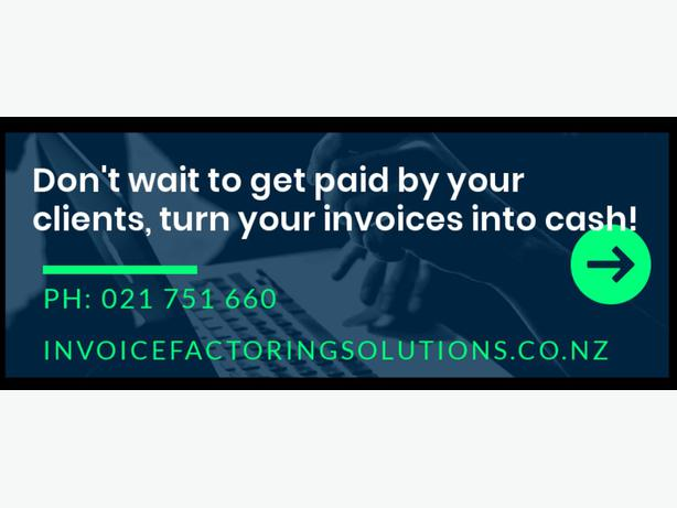 Invoice Factoring in NZ | Invoice Factoring Solutions