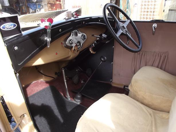 1930 Model 'A' Ford Tudor.