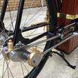 1896 Roper Steam Bicycle replica.