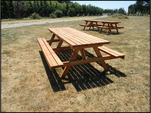 Oregon Outdoor BBQ/Picnic Table Oiled (B24)