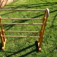 Towel rail/clothes rack, wooden