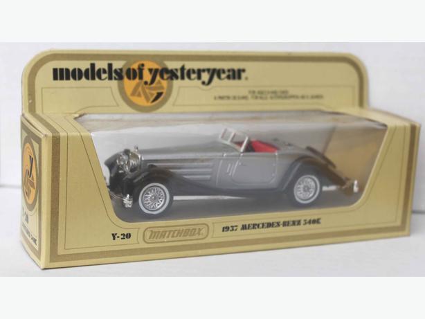 Matchbox Yesteryear Y-20 1937 Mercedes-Benz 340K. 1981