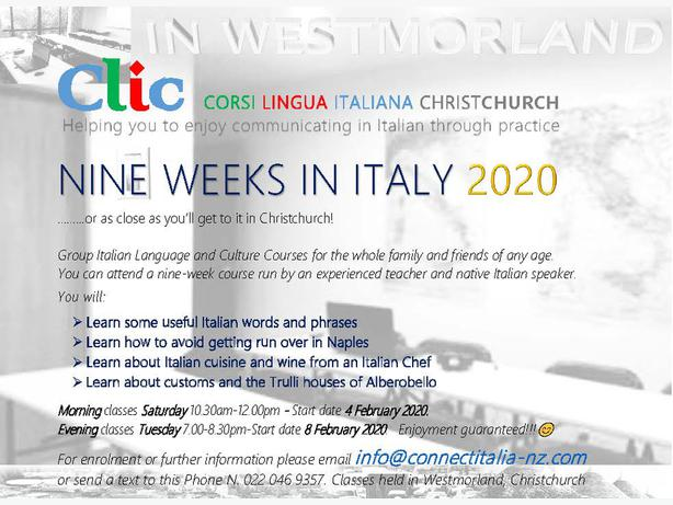 Group Italian Language Courses