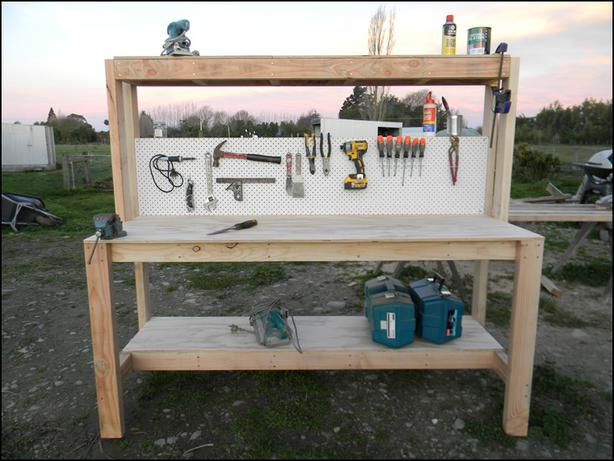Work Bench by Wooden Thingz