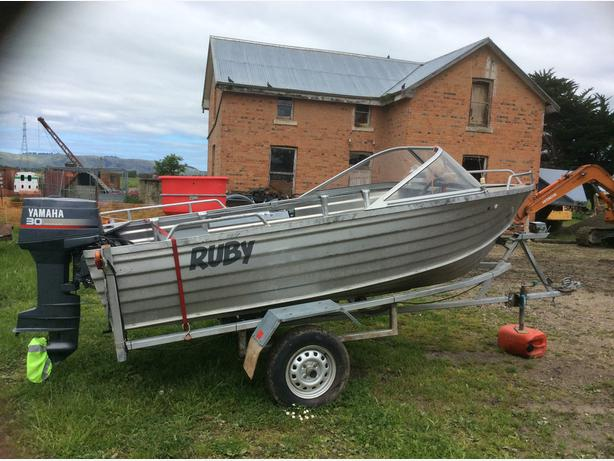 Alloy dinghy