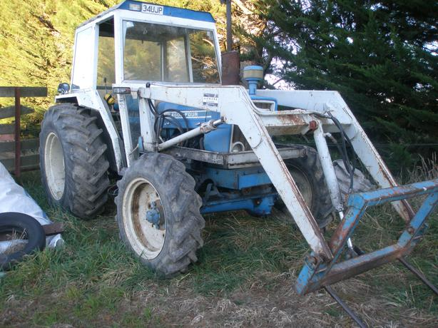Ford 4600 County 4x4