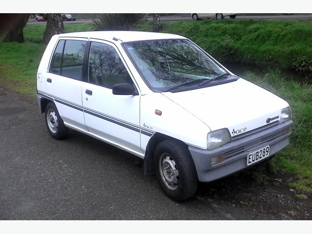 Subaru Ace 1989 Manual 665cc