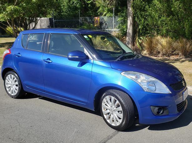 New Zealand New Suzuki Swift, only 36000kms