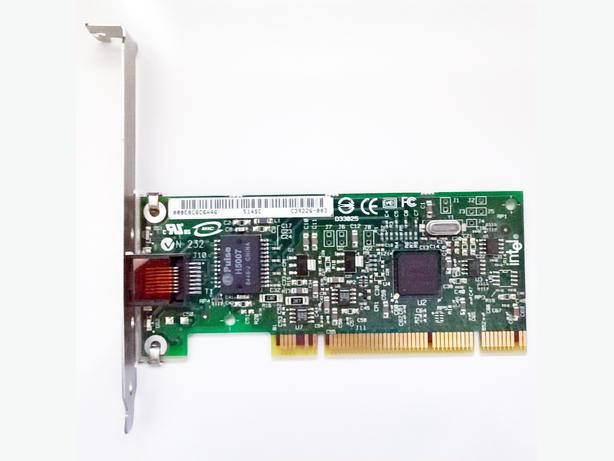 Intel PRO/1000 MT Network Desktop Adapter, Full Height With 1 x RJ45: PWLA8390MT
