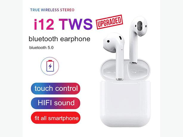 i12 TWS New 2020 Version Upgraded Model Wireless Bluetooth Earbuds