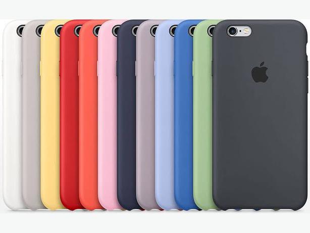 Apple iPhone 6, 6S, 6 Plus & 6S Plus Official Genuine Silicone Case