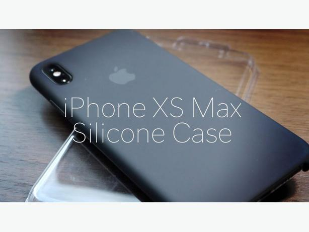 Apple iPhone XS Max Official Genuine Silicone Case in Retail Box
