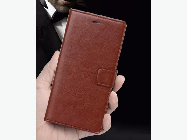 Apple iPhone Leather Folio Full Cover Wallet Flip Case