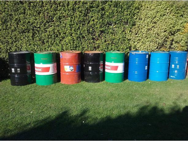 204L oil drum
