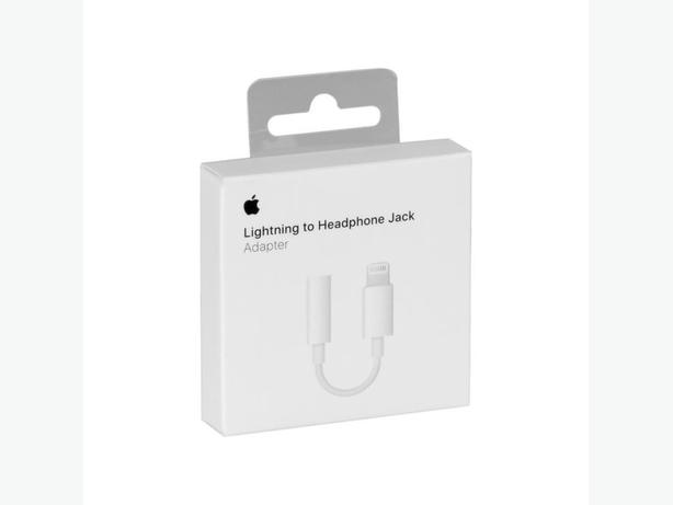 Apple Official Genuine Lightning to Headphone 3.5mm Jack Adapter