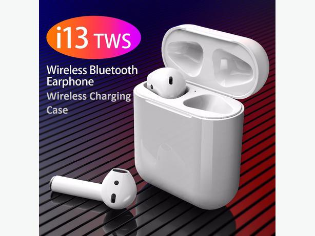i13 TWS Bluetooth 5.0 Earbuds Wireless Charging Case with Touch Control
