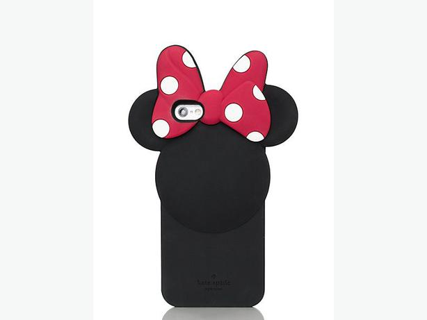 Kate Spade New York Disney Minnie Apple iPhone Silicone Back Cover Case