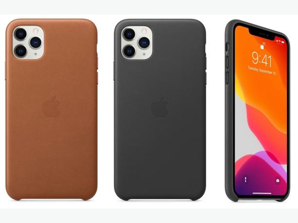 Apple iPhone 11 Pro Official Leather Case in Retail Box