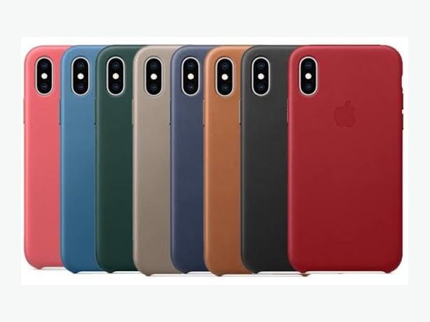 Apple iPhone X and XS Official Leather Case in Retail Box