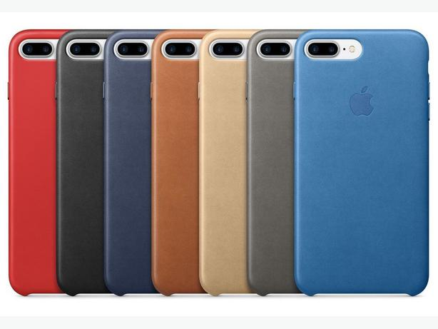 Apple iPhone 7 and 8 Plus Official Leather Case in Retail Box