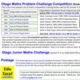 Otago Maths Problem-Solving Challenge Competition Books 1-5: $85 for 5 books