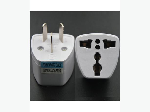 3 Pin Universal Travel Adapter US/UK/EU to NZ/AU New Zealand Australia