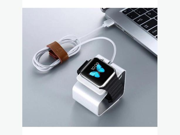 Apple Watch Charging Stand Silver Aluminium Compact in Retail Box