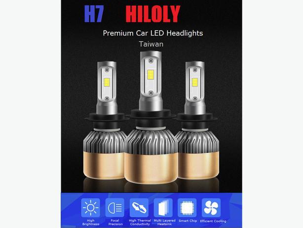 H7 Car LED COB Headlights 36W 6000LM 6000K White
