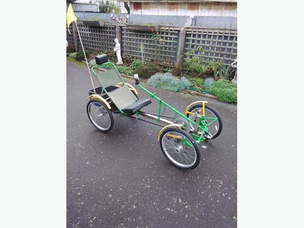 4 wheel E cycle