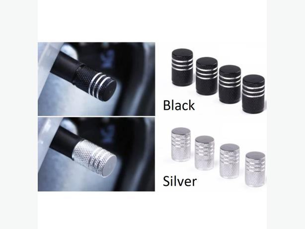 Premium 4 Pieces Auto Car Wheel Aluminium Alloy Tyre Tire Caps