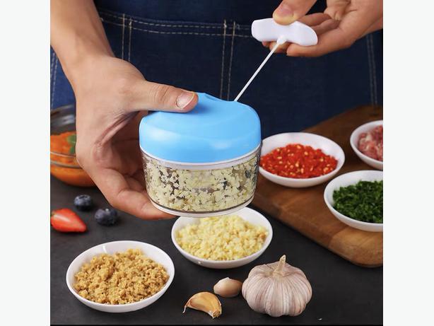 Manual Pull Food Vegetable Chopper Shredder Cutter Slicer 170ML
