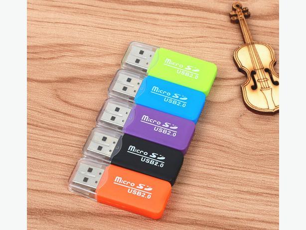 Mini USB 2.0 Card Reader for Micro SD Card