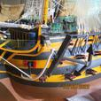 Large model of HMS Victory