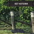 Vineyard Orchard End assembly anchor / footing