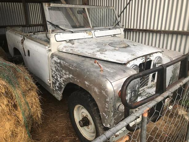 1962 Land Rover Series swb 2A
