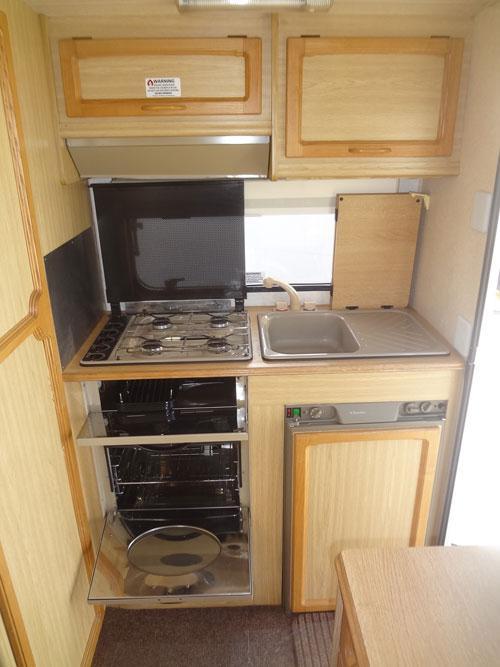 1995 Elddis Elf 380 2 Berth With End Kitchen