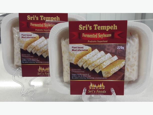 Sri's Tempeh (Organic Fermented Soybeans)