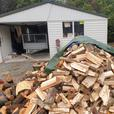 4 Cubic Metres Dry Firewood Mixd- Poplar, willow, oldman pine