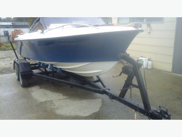 Haines hunter boat v17r