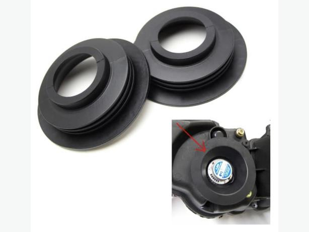 Universal Large Opening Rubber Dust Cover Seal Caps for Headlamp Install LED Kit