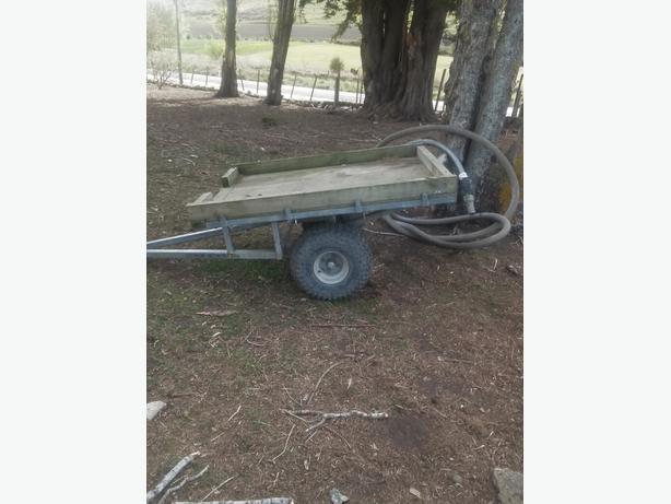 Farm bike trailer