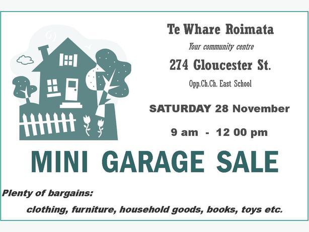 Garage Sale Fundraiser for Te Whare Roimata
