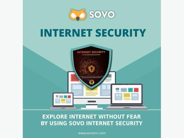SOVO Internet Security Powered by Real-Time Security