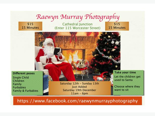 Santa Photographs - Relaxed - Bring your Furbabies too