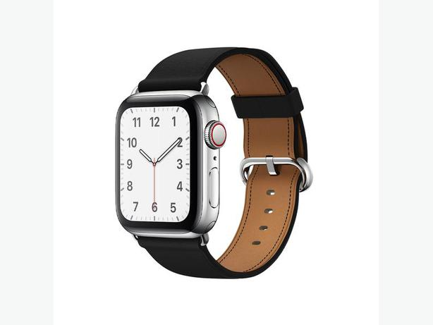 Buy Quality Black Leather Apple Watch Band Inexpensively